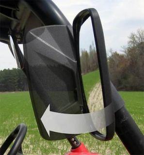 Honda Big Red UTV Break Away Side Mirror Qty 2 Shatter Resistant Black