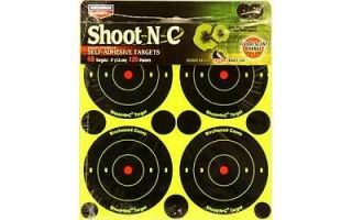 Birchwood Casey Targets Shoot N C Self Adhesive 12 Sheets 3 Targets