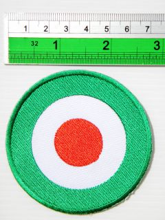 New RAF MOD Scooter Vespa Lambretta Target Jacket Sew Iron on Patch
