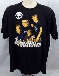 TOKIO HOTEL Pre owned T Shirt Tom Bill Kaulitz Scream Humanoid