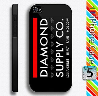 Hot DIAMOND SUPPLY CO Los Angeles Beirut Paris Moscow iPhone 5 Case