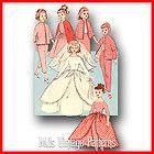 1956 15 Doll Wardrobe Pattern Simplicity 1779 Sweet Sue Binnie