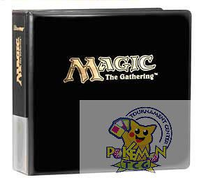 Ultra Pro Magic the Gathering logo 3 ring card binder for mtg cards