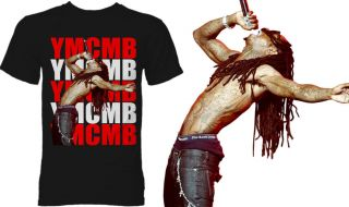 Shirt Lil Wayne Young Money Cash Money Weezy Picture Black T Shirt