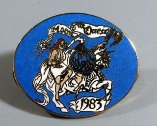 Blue Knights Motorcycle Club Pin   Home of the Quest