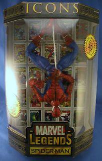 Marvel Legends Icons Toy Biz The Amazing Spider Man Masked Action