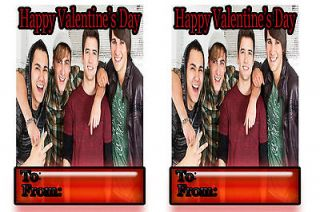 big time rush valentines valentine cards for kids teens class L@@k btr