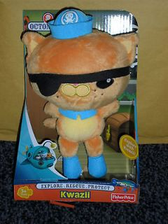 OCTONAUTS   KWAZII PLUSH SOFT TOY   FIGURE   BIRTHDAY PRESENT  BN