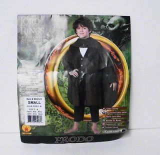 Lord Of The Rings LOTR Frodo Deluxe Costume Childs Sm 4 6 #38815