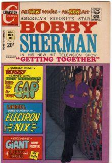BOBBY SHERMAN 3 CHARLTON 1972 FN ☺
