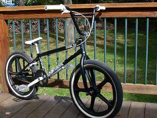 SUBROSA LETUM STREET BMX BIKE BLACK 20 FRAME, FORK & BARS ONLY