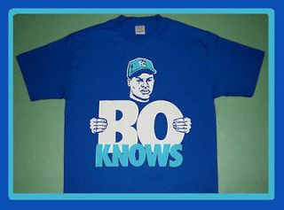 New Bo Jackson Kansas City Royals shirt sc trainer jersey Knows vtg