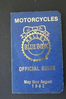 kelly blue book for motorcycles