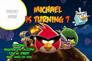 angry birds birthday invitation in Printing & Personalization