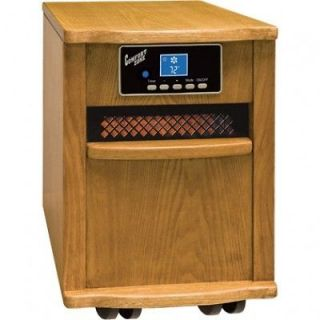 Berger CZ2011O Comfort Zone Deluxe Infrared Quartz Heater Oak procom