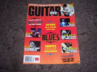 World Presents Guitar DVD   How to Play Blues & Blues Rock Guitar