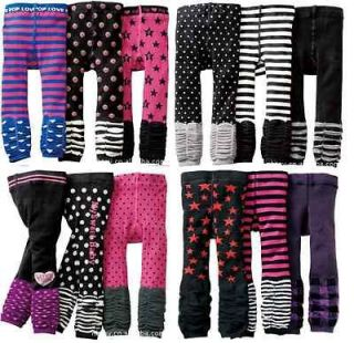 toddler black and white striped tights