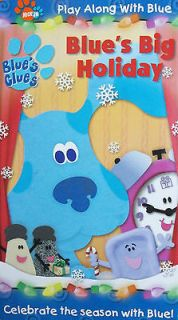 BLUES CLUES BLUES BIG HOLIDAY CHRISTMAS / CHANUKAH / KWANZAA w