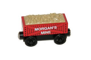 MORGANS MINE CAR Thomas Tank Engine WOODEN Railway Gold Mountain
