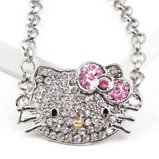 Hello Kitty Bling Bracelet Hand Wrist Chain Jewelry Sparkle Diamant