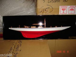 half hull high quality hand made wooden model ship for wall decorative
