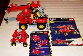 Set #8854 Pneumatic Power Crane Truck & 8024 Universal Set Complete