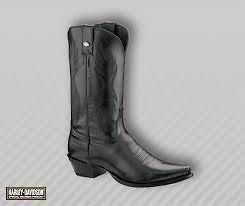 Harley Davidson Ladies Cancun Western Embossed Boots   81576