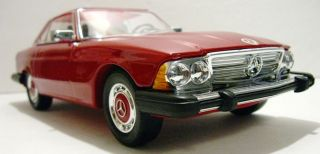 Jim Beam Decanter 1974 Mercedes Benz 450SL Hardtop Convertible Car Red