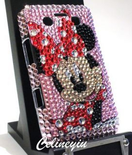 Bling Minnie Mouse Diamond Crystal Case for Blackberry Bold 9700 9780