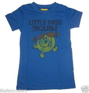 New Authentic Junk Food Little Miss Trouble Juniors T Shirt