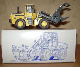 Komatsu WA250PT Wheel Loader Fork Lift Grapple 1/50 Conrad #2434 toy