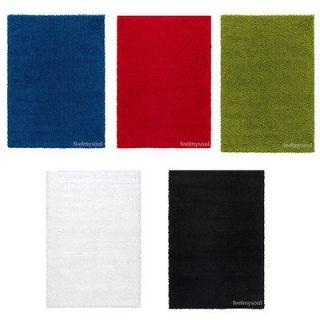 Ikea Rug Carpet Blue Red Green White Black Brand New