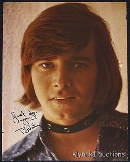 Bobby Sherman teen idol wearing choker PINUP 1970s #70.126