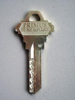 Schlage Primus Level 1 Key Blank
