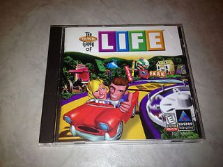 Game of Life  CD, age 8+ classic board game software, Windows 95/98/XP