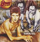 DAVID BOWIE Diamond Dogs LP GENITALS COVER Withdrawn