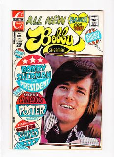 Bobby Sherman No.7 :: 1972 :: :: Bobby Sherman For President! ::