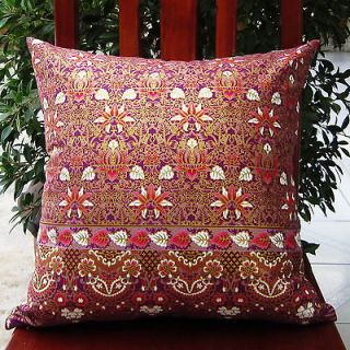 oriental asian Invisible zipper Decorative Cushion Throw Pillow Cover