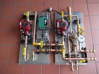 Radiant Floor Heat Control Panel  One Zone w/o Boiler