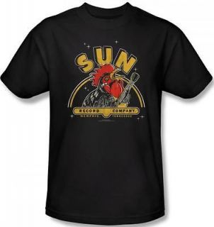 NEW Men Women Kid Youth SIZES Sun Record Label Rocking Rooster T