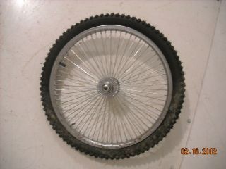 KENDA REAR TIRE/RIM 20 ALUMINUM BMX BICYCLE RIM/TIRE BIKE PARTS B255