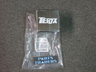 Genuine Kawasaki Trailer Hitch Cover Teryx 750 Aluminum OEM TX750 014