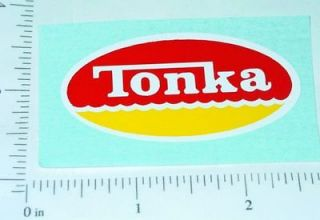 Tonka Hard Hat Construction Toy Sticker TK 198
