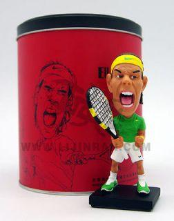 Premium Rafael Nadal Bobble Heads Figure ORIGINALLY DESIGNED By Top