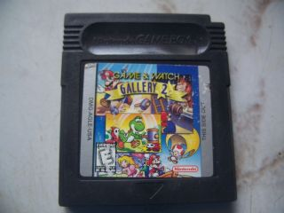 Game & Watch Gallery 2 Cart ONLY Nintendo Game Boy Color GB GBC