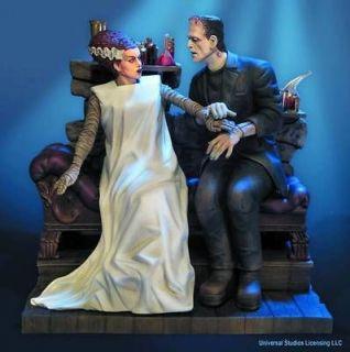 Moebius Models The Bride & Frankenstein Model Kit 18   928