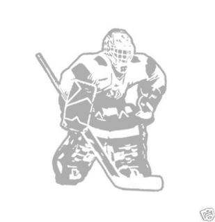 Hockey Goalie Boys Kids Room Wall Art Decor Decal New