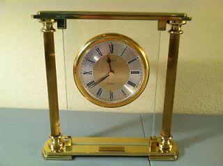 LINDEN QUARTZ BOEING MANTEL CLOCK