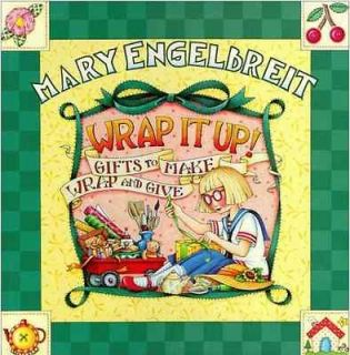 Mary Engelbreit WRAP IT UP Gifts to Make Wrap & Give Book ~ Engelbriet