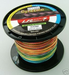 DYNEEMA braided Top Quality orange BRAID Spectra braid Fishing Line